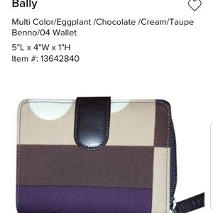 New Bally Wallet